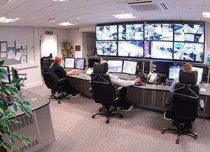 Baustellenüberwachung Zentrale