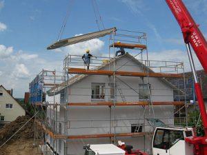 Haus Neubau, Brandschutzverordnungen beachten