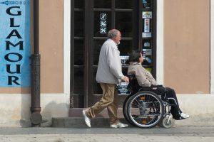 Körperliche Behinderung