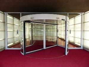 Karusselltür für Hotels und Geschäftsgebäude